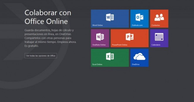Microsoft reemplaza las Office Web Apps por la suite gratuita Office Online